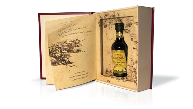 packaging olio da vinci
