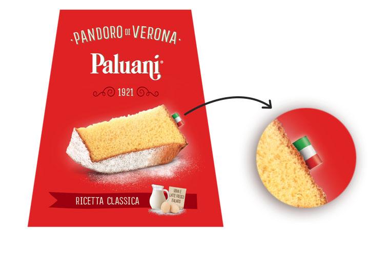 Pandoro italiano