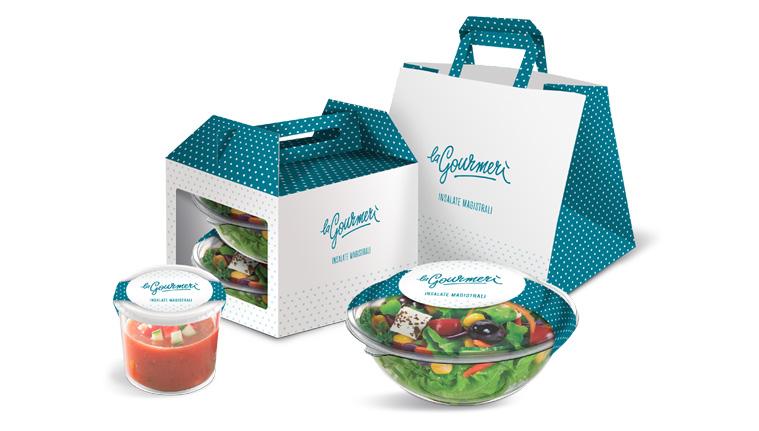 Packaging la Gourmerì