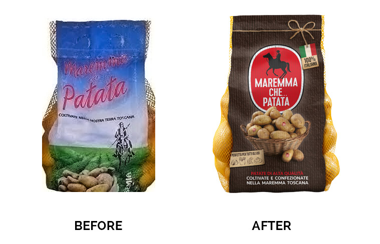 Maremma before after