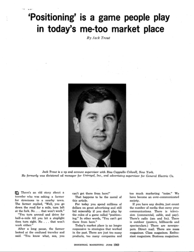 Jack Trout-Industrial Marketing