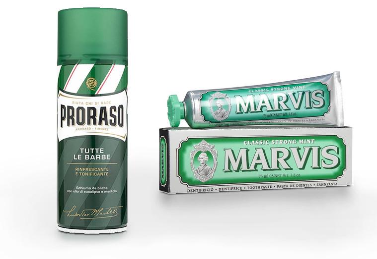Marvis e Proraso